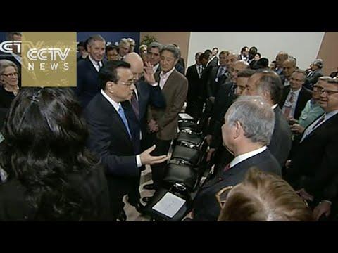 Premier Li in Davos stresses steady dev't of China's economy