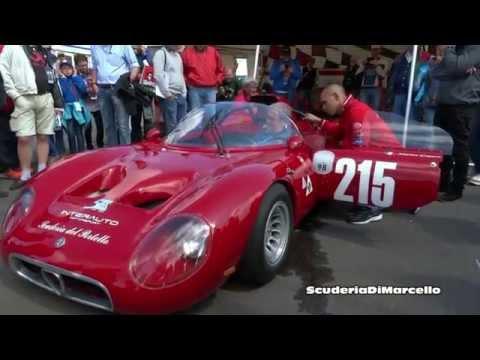 Alfa Romeo Classic Race Car (Scuderia Del Portello) Video.
