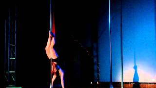 Waeli Wang Pole Dance Competition Denver Oriental Theater 8/6/2011