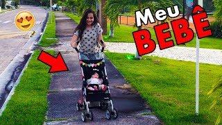 MEU Enxoval COMPLETO da Minha Bebe REBORN - A Bebe mais Bagunceira do Youtube