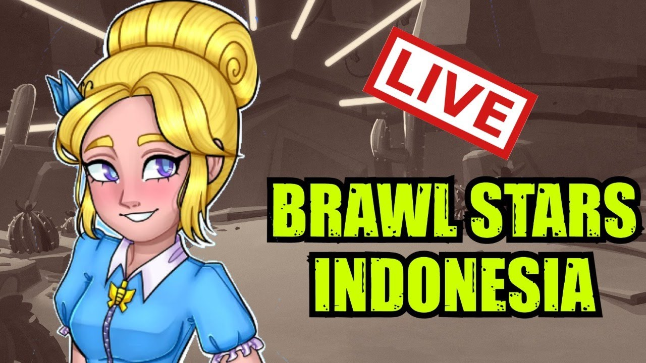 🔴live  push dikit  vote map  brawl stars indonesia