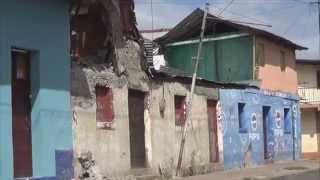 Casa cayendose a pedazos en el barrio San Jerónimo
