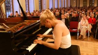 Aleksandra Mikulska plays Chopin - Scherzo No. 2 in B-flat minor, Op. 31