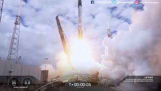 SpaceX Starlink Mission 15 Highlights (Launch/landing/deployment)