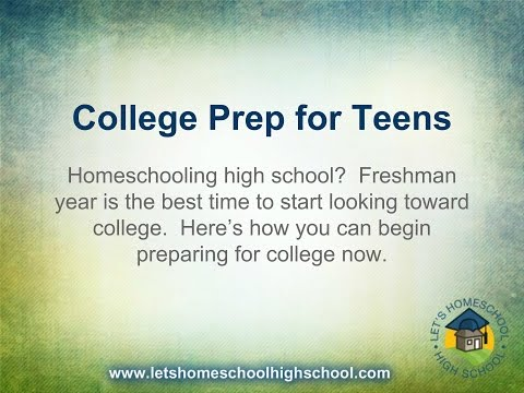 College Prep for Teens