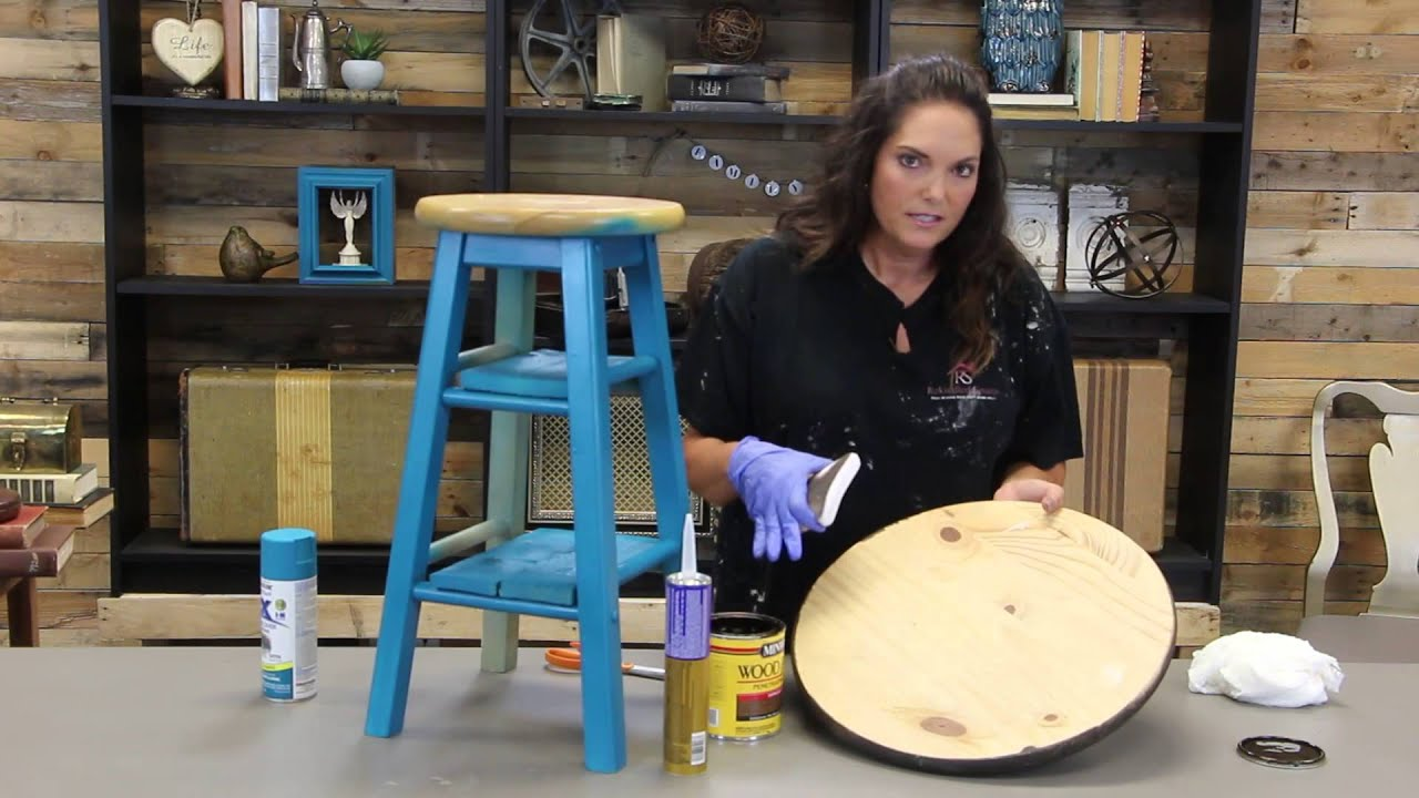 DIY Bar Stool Table Build Your Own Stools31