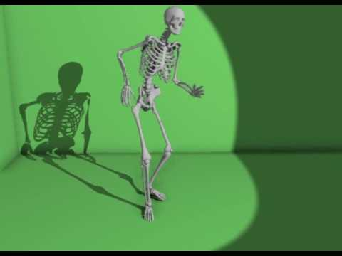 skeleton dancing animation looks like the gmod dancing animation