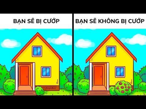 12 cách để bảo vệ ngôi nhà của bạn khi bạn ra ngoài