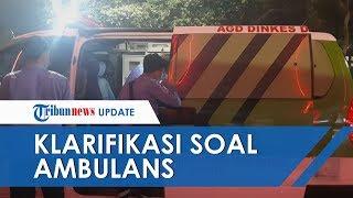 Polisi Klarifikasi soal Ambulans Pemprov DKI yang Angkut Batu untuk Demo, Dugaannya Ternyata Keliru