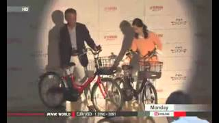 Yamaha Motors release bicycles for senior citizens