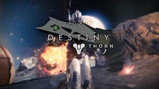 "2D Vector Speedart - Destiny Exotic Weapon ""Thorn"""