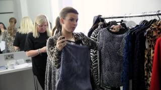 Coleen Rooney Behind the scenes AW Collection