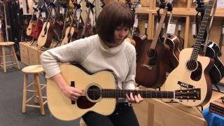 """Molly Tuttle plays """"Lost Girl"""" on a Collings Short Scale OM2 Guitar at Gryphon Stringed Instruments"""