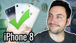 8 Raisons d'acheter un iPhone 8 !