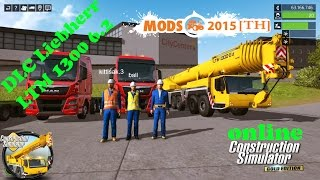 Construction-Simulator 2015 #DLC Liebherr LTM 1300 6.2 [TH]