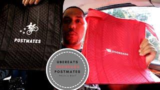Which is best?  Ubereats vs Doordash vs Postmates 🚗⛽🚦