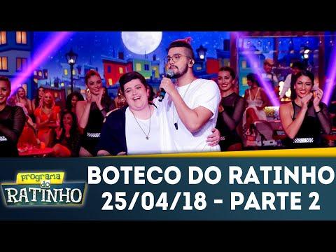 Boteco Do Ratinho - Parte 2 | Programa Do Ratinho (26/04/18)