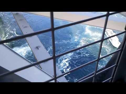 鳴門の渦潮(Whirling current in the Naruto Strait)