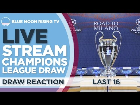 LIVE: UEFA Champions League Round Of 16 Draw | Manchester City Reaction