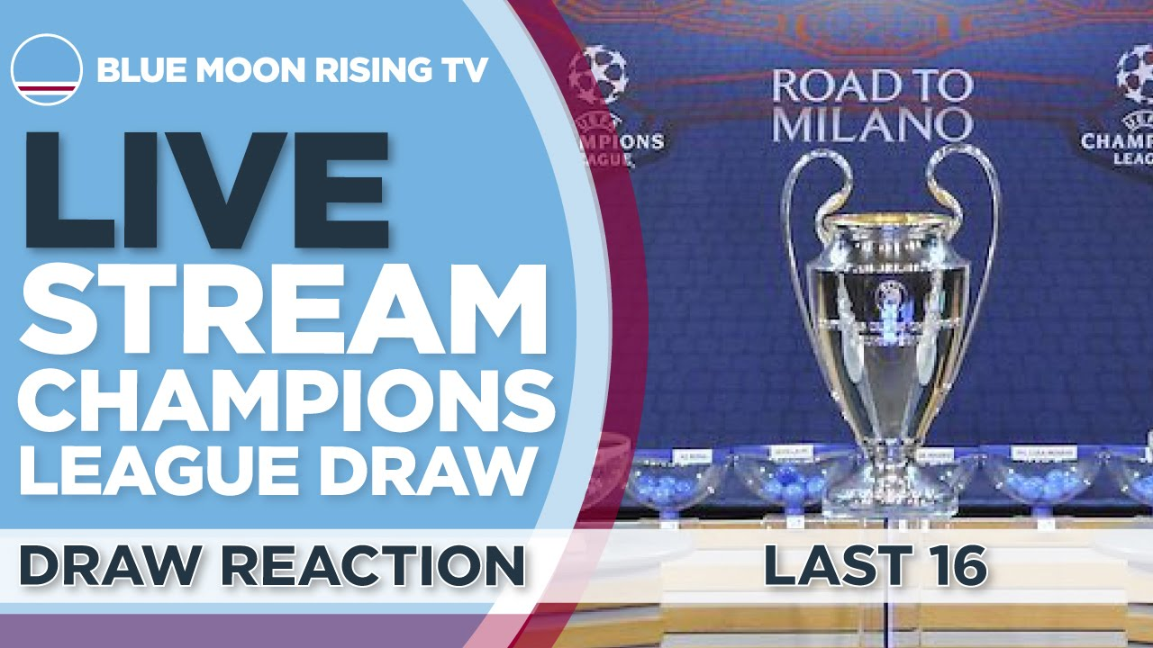 Champions League Draw: Watch Online Champions League Draw Live