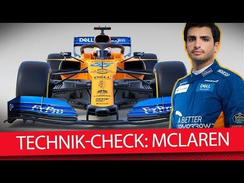 Formel 1 Autos 2019: McLaren MCL34 (Technik-Check)