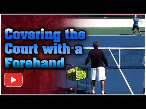 Winning Tennis: Dedicated Practice - Covering the Court - Coach Lou Belken