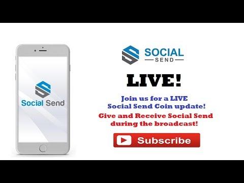 Social Send Live Stream! Buy SEND coin! 11:30 PM EST!