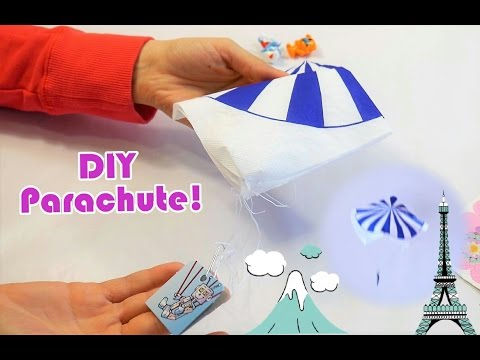 DIY Parachute, Easy and Simple Parachute Crafting Activity | How to Craft a Parachute