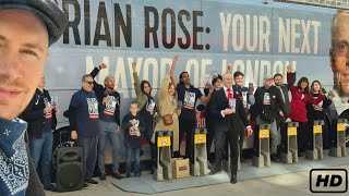 The American running to be the Mayor of London - Brian Rose Manifesto Launch