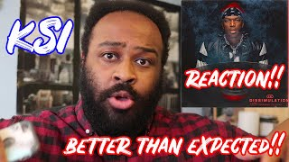 KSI - DISSIMULATION ALBUM REACTION/REVIEW