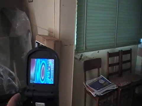 Thermal Imaging Camera Shows What A Termite Nest Looks Like In A Wall Youtube