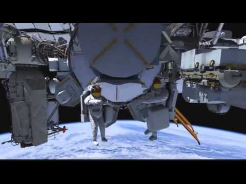 FULL US spacewalk #32 ISS coverage - Scott Kelly and Kjell Lindgrens first spacewalk