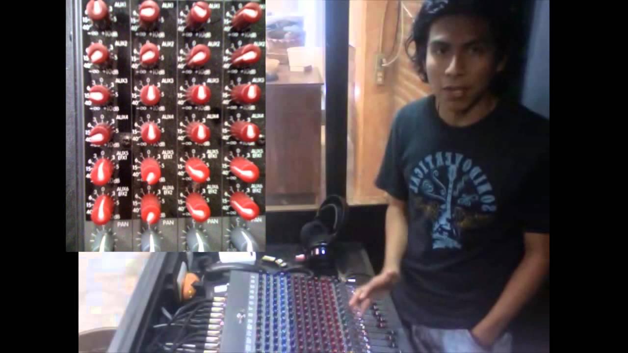 Audio - Uso de la consola (Mixer)