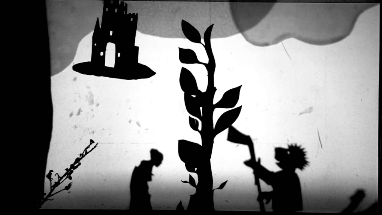 Trailer - Jack & the Beanstalk movie. Film-making shadow puppets ...