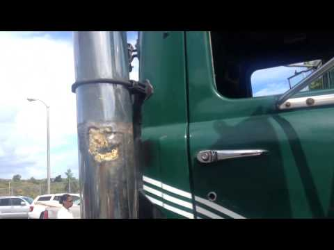 Another Mack Truck Idling