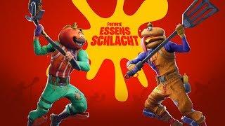 Fortnite Essensschlacht Event!! #TeamPizza (Deutsch/German)