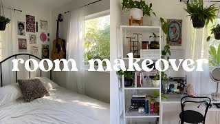 EXTREME room makeover + room tour! *pinterest inspired*
