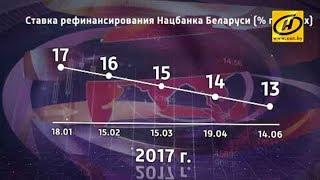 Нацбанк снизил ставку рефинансирования до 13% годовых