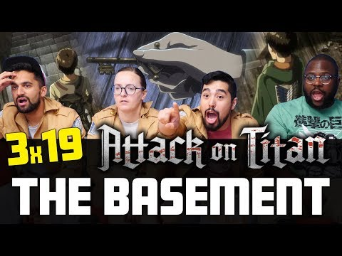 Attack on Titan - 3x19 The Basement - Normies Reaction