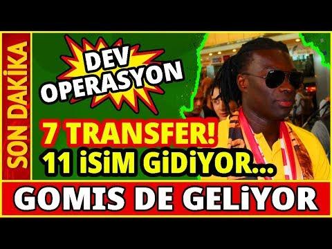 Galatasaray Transferin Şampiyonu Olacak! 7 Transfer 11 Yolcu... Youtube