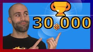 🤪Brawl Stars -  Reto 30.000 COPAS!!!