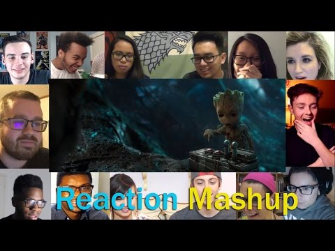 Guardians of the Galaxy Vol  2 Teaser Trailer REACTION MASHUP