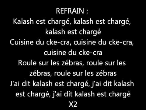 KAARIS - CHARGE (PAROLES)