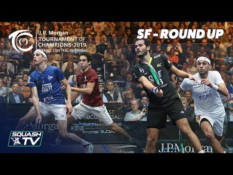 Squash: Tournament of Champions 2019 - Men\'s SF Roundup