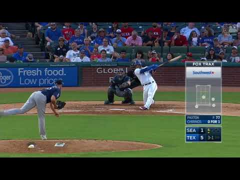 ALL 2017 Robinson Chirinos Home Runs