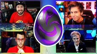 ELRUBIUS THEGREFG AND NINJA REACTION TO FORTNITE SECRET DRAGON'S OWN⚡