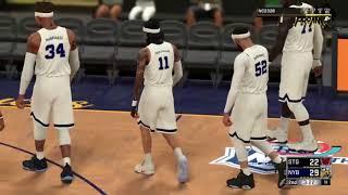 Bucks vs Showtyme NBA 2k Comp Games PLAYOFFS 99 OVERALL LOCK VS MOBE