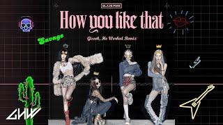 블랙핑크 (BLACKPINK) - How You Like That Remix