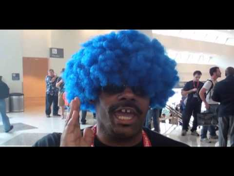 On YouTube - Charlie Sheen Meet Your Brother 'Afro Sheen' At WonderCon SF