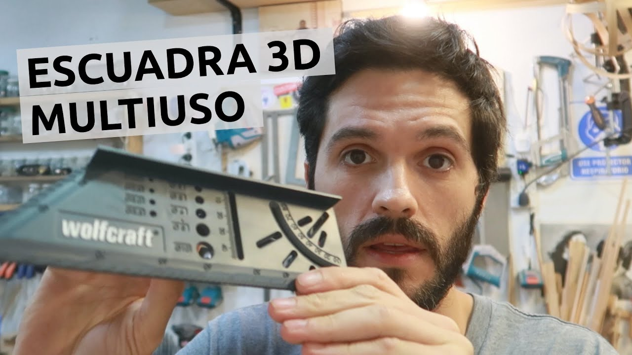 Download Escuadra 3D, la evolución de la escuadra rápida de carpintero. Wolfcraft Argentina